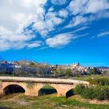 Ribarroja del turia village bridge Valencia Spain Stock Images