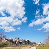 Ribarroja in Valencia parc de Turia skyline Stock Photography