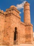 Ribat在苏斯(突尼斯) 免版税库存图片