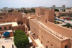 Ribat - Arabisch vestingwerk Royalty-vrije Stock Foto's