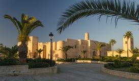 Ribat de Monastir em Tunísia fotos de stock royalty free