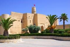 Ribat en Monastir en Túnez, África Foto de archivo
