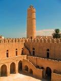 Ribat en Sousse (Túnez) Foto de archivo