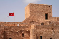 Ribat - fortification árabe imagens de stock