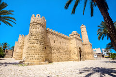 Ribat fortress of Medina in Sousse. Tunisia, North Africa Royalty Free Stock Photo
