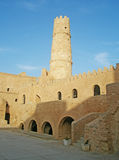 Ribat in Monastir. Court of Ribat in Monastir, Tunisia Stock Photos