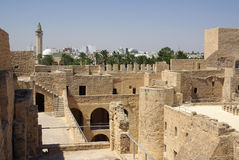 Ribat in Monastir in Tunisia, Africa Stock Photos