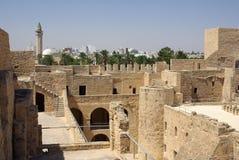 Ribat in Monastir in Tunisia, Africa Stock Photos