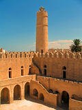 Ribat in Sousse (Tunisia). Ribat (a small fortification) in the old town of Sousse (Tunisia Stock Photo