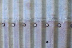 Ribattini del silo Fotografie Stock