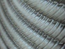 Ribbad metallkant Arkivbilder