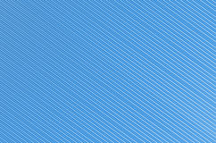 Abstract background blue wave bend with white. Ribbed background diagonal white narrow lines corrugated paper effect royalty free illustration