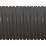 Ribbed black pipe Royalty Free Stock Photography
