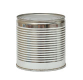 Ribbed can Royalty Free Stock Image