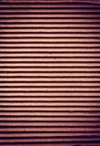 Ribbed cardboard Stock Image