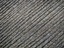 Ribbed concrete road texture Stock Photo
