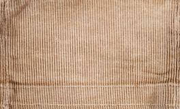 Ribbed corduroy texture, retro background Royalty Free Stock Photo