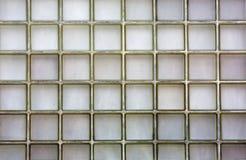 Ribbed Glass block wall Royalty Free Stock Photos
