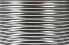 Ribbed Ridged Corrugated Steel Background Royalty Free Stock Photos