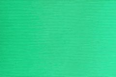 Ribbed texture of a green cardboard with horizontal lines stock illustration