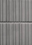 Ribbed Wall Stock Photo