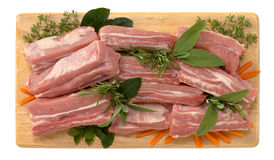 Ribben van kalfsvlees Royalty-vrije Stock Afbeeldingen