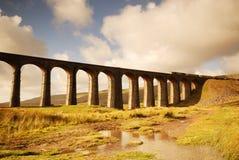 ribblehead railway моста Стоковое Изображение RF