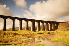 Ribblehead Railway Bridge Royalty Free Stock Image