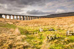 Ribblehead Railway Bridge Royalty Free Stock Photography
