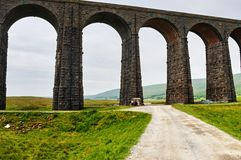 Ribblehead railway viaduct Stock Images