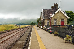 Ribblehead station Royalty Free Stock Image