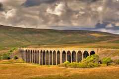 Ribblehead Viaduct Royalty Free Stock Photos