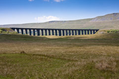 Ribblehead viaduct. Ribblehead railway viaduct in the yorkshire dales england Stock Photo