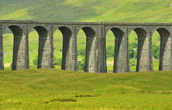 Ribblehead Viaduct detail, North Yorkshire royalty free stock images
