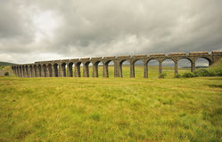 Ribblehead Viaduct, looking north, North Yorkshire Royalty Free Stock Photos