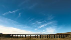 Ribblehead-Viadukt stock video footage