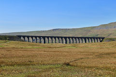 Ribblesdale Viaduct in Yorkshire, UK Stock Photos
