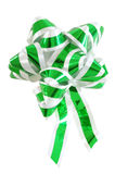 Ribbon. Christmas or gift ribbon, isolated over white background Royalty Free Stock Images