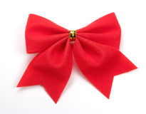 Ribbon. Red ribbon Royalty Free Stock Photography