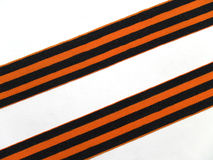 Ribbon. Of Saint George, Symbol of Russian Victory Day of World war 1941-1945 Stock Photography