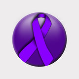 Ribbon against domestic violence Royalty Free Stock Photo