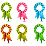 Ribbon award Royalty Free Stock Photo