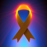 Ribbon Awareness Stock Photo