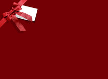 Ribbon with background Royalty Free Stock Image