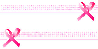 Ribbon background, wallpaper, pink banner Royalty Free Stock Photos