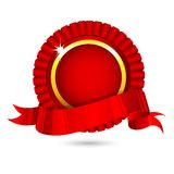 Ribbon Badge Royalty Free Stock Photography