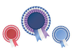 Ribbon Badges Pack Royalty Free Stock Images