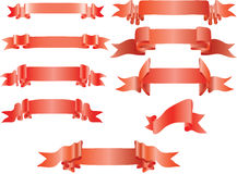 Ribbon banner Stock Images