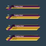 Ribbon banner Royalty Free Stock Image