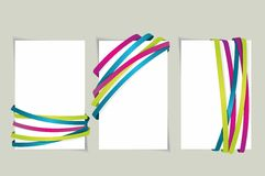 Ribbon and banner collection. Vector bookmarks Stock Illustration
